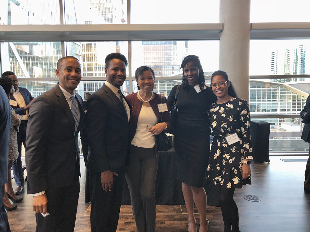 Meyers Nave diversity fellow Shandyn attended the Bar Association of San Francisco's African American Partners and Associates Summer Reception