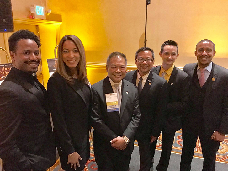 Meyers Nave diversity fellow Victoria and Shandyn attended the Installation Dinner for the Filipino Bar Association of Northern California along with Contra Costa County Superior Court Judge Benjamin T. Reyes II