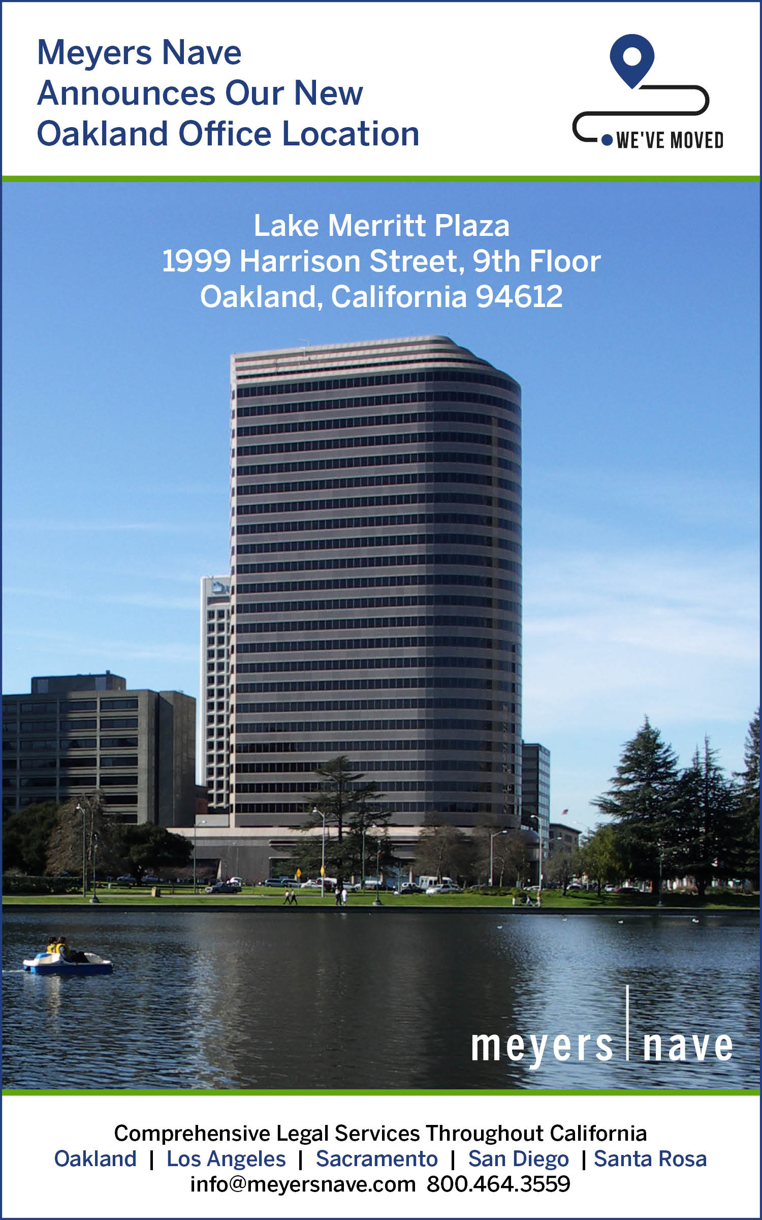 Oakland Office Move Announcement Image