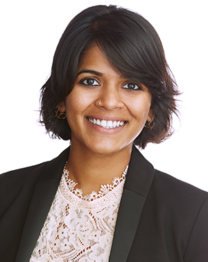 headshot of Vidya Venugopal